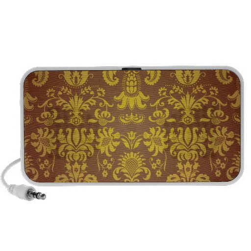 Batik Bali style design iPod Speakers