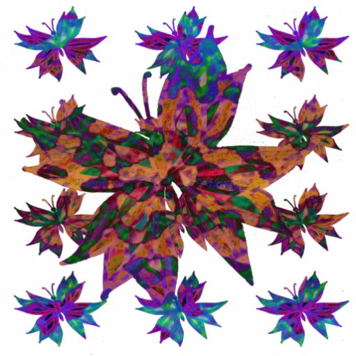 Batik Butterfly Sculpture Photo Sculpture