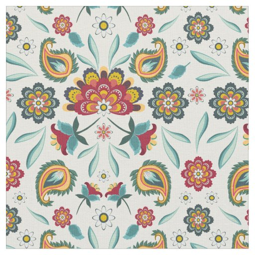 Batik Floral Boho Indonesian Style Fabric