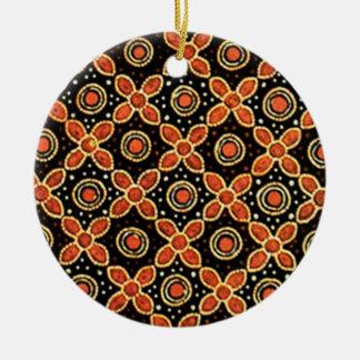 batik godong 03 christmas ornament
