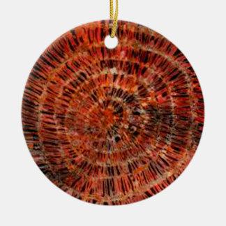 batik graphic art no.3 round ceramic decoration