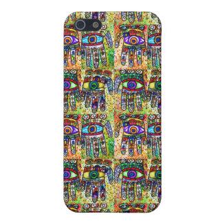 Batik Judaica Hamsa Case iPhone 5/5S Cover