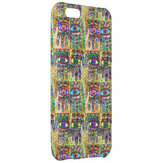 Batik Judaica Hamsa Tapastry Case Case For iPhone 5C