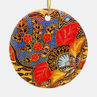batik kalapito 03 christmas ornament