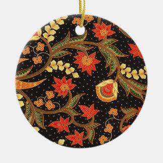 batik kalsabit 03 christmas ornament