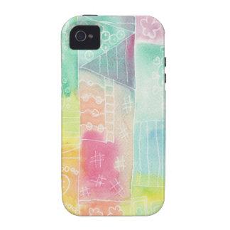 batik-look doodle Case-Mate iPhone 4 cases