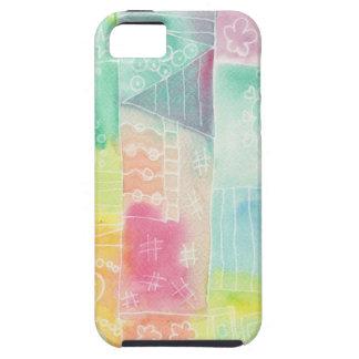 batik-look doodle iPhone 5 covers
