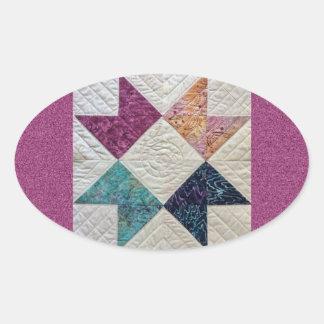 Batik Quilt Sticker