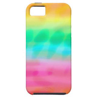Batik rainbow tough iPhone 5 case