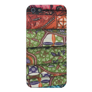 Batik sarong patterns iPhone 5 cover