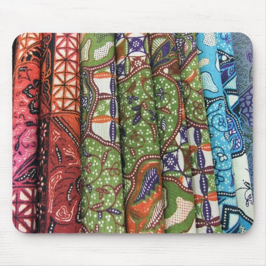 Batik sarong patterns mouse mat