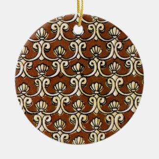 batik semanggi 03 christmas ornament