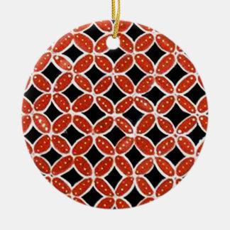 Batik siti 03 christmas ornament