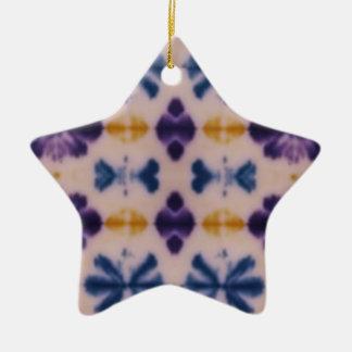 Batik Star Ornament