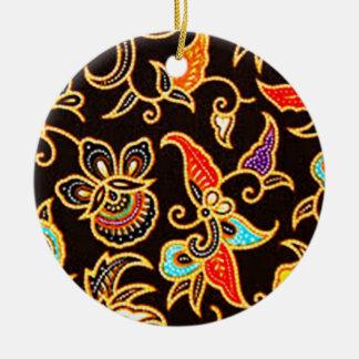 batik yono 03 christmas ornament