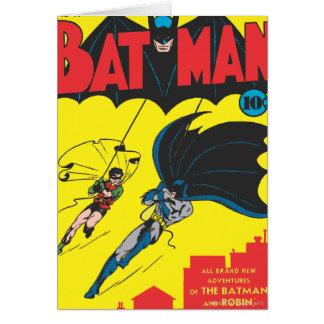 Batman #1 Comic Greeting Card