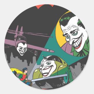 Batman #37 Comic Round Sticker