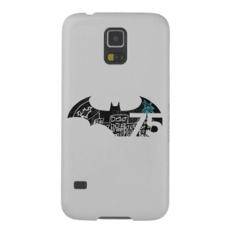 Batman 75 Logo - Chalkboard Galaxy S5 Cover