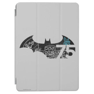 Batman 75 Logo - Chalkboard iPad Air Cover