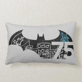 Batman 75 Logo - Chalkboard Lumbar Cushion