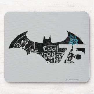 Batman 75 Logo - Chalkboard Mouse Pads