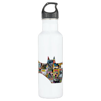 Batman 75 Logo - Comic Covers 710 Ml Water Bottle