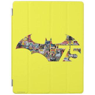 Batman 75 Logo - Comic Covers iPad Cover
