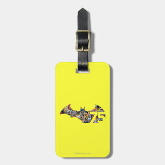 Batman 75 Logo - Comic Covers Luggage Tag