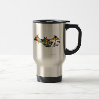 Batman 75 Logo - Comic Covers Stainless Steel Travel Mug