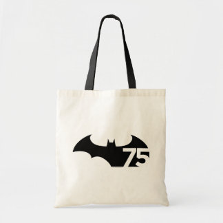 Batman 75 Logo Tote Bag