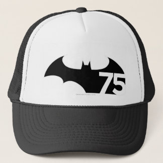 Batman 75 Logo Trucker Hat