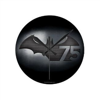 Batman 75 - Metal Grid Round Clock