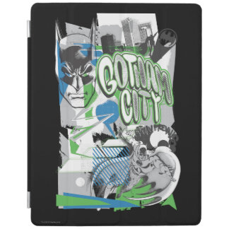 Batman - Absurd Collage Poster iPad Cover