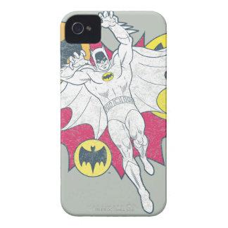 Batman And Bat Symbol Graphic iPhone 4 Case-Mate Cases