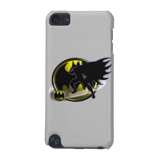 Batman and Circle Logo iPod Touch (5th Generation) Covers