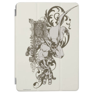 Batman and Decorated Letter B iPad Air Cover