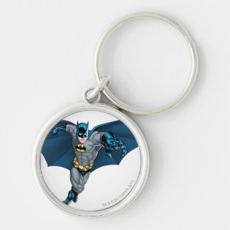 Batman and Joker with Cards Key Ring