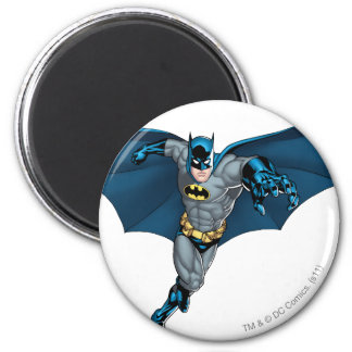 Batman and Joker with Cards Magnet