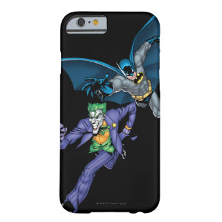 Batman and Joker with gun Barely There iPhone 6 Case