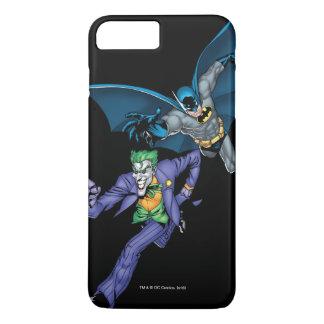 Batman and Joker with gun iPhone 7 Plus Case