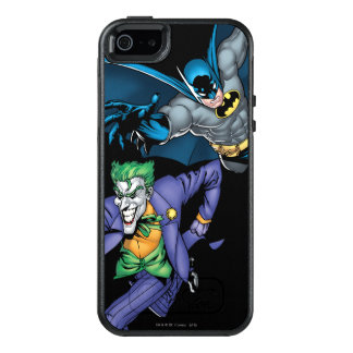 Batman and Joker with gun OtterBox iPhone 5/5s/SE Case