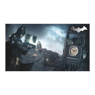 Batman And Oracle Canvas Print