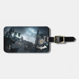 Batman And Oracle Luggage Tag