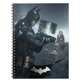 Batman And Oracle Spiral Notebook