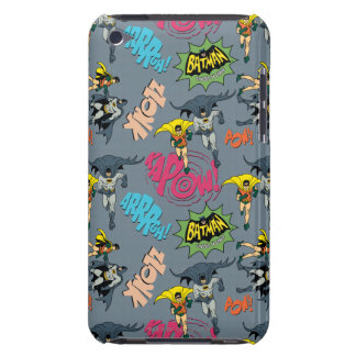 Batman And Robin Action Pattern iPod Case-Mate Cases