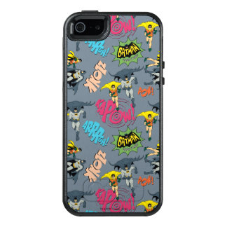 Batman And Robin Action Pattern OtterBox iPhone 5/5s/SE Case