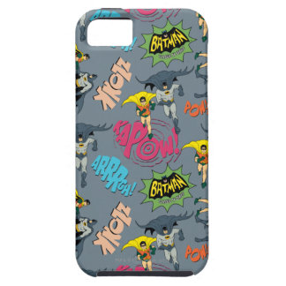Batman And Robin Action Pattern Tough iPhone 5 Case