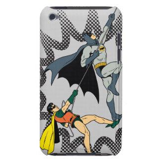 Batman And Robin Climb iPod Case-Mate Cases