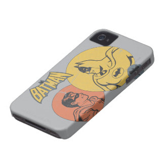 Batman And Robin Graphic - Distressed iPhone 4 Case-Mate Case