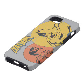 Batman And Robin Graphic - Distressed iPhone 5 Case